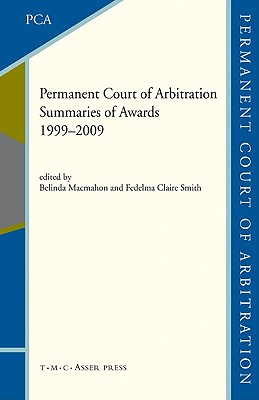 The Permanent Court of Arbitration By Permanent Court of Arbitration, Inte (COM)